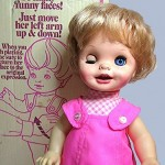 Saucy Makes Faces Doll, Mattel