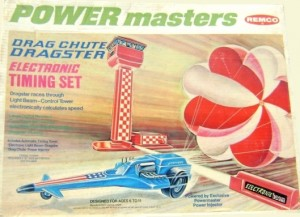 Power Masters Drag Chute Dragster Electronic Timing Set