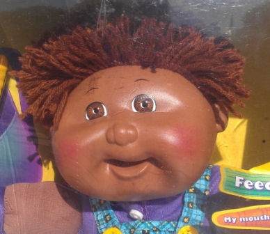 Cabbage Patch Snacktime Kid, African-American - by mattel