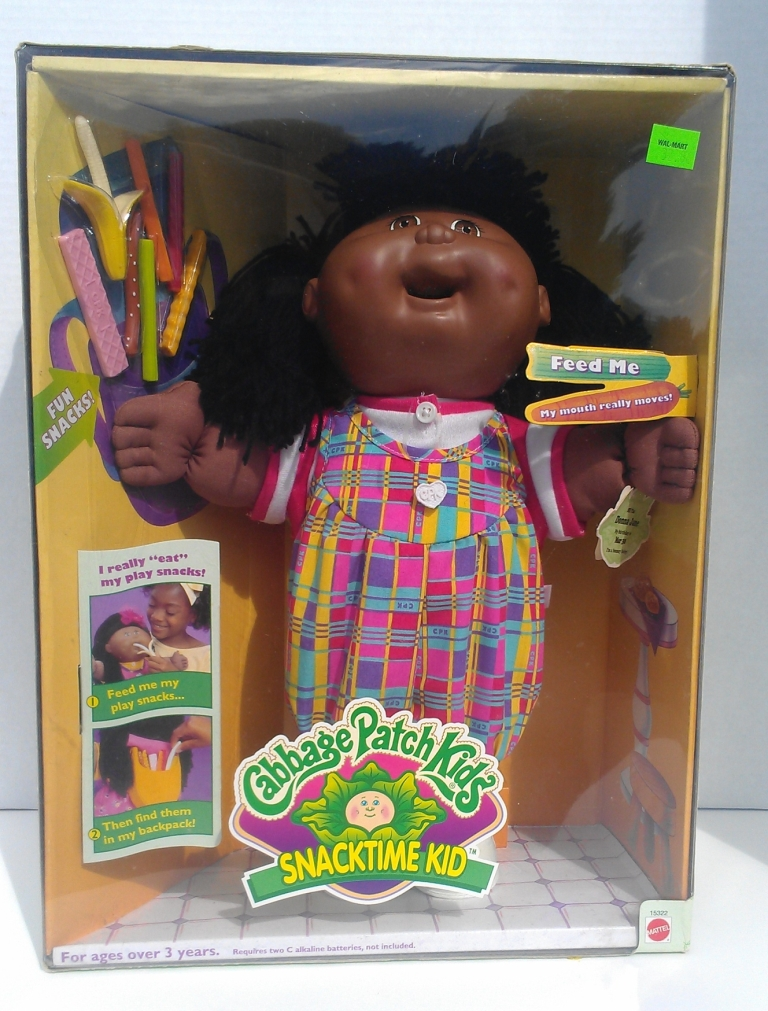 Blip Mattel Snacktime Cabbage Patch Kids Doll Plastic Food Christmas 1996